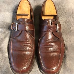 Bruno Magli brown leather loafers size 8.5